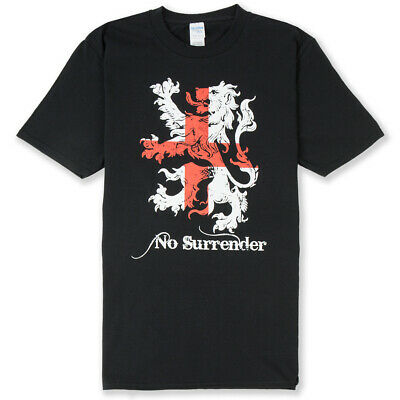 England T-Shirt Lion No Surrender - St George's Day, Flag, Available Up To 4XL • 14£