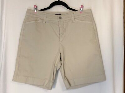 $12 • Buy Woman's NYDJ Khaki Shorts Lift Tuck Technology Size 12 Not Your Daughters Jeans