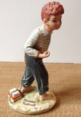 $ CDN10.02 • Buy Norman Rockwell Figurine 1973 The Saturday Evening Post By Dave Grossman