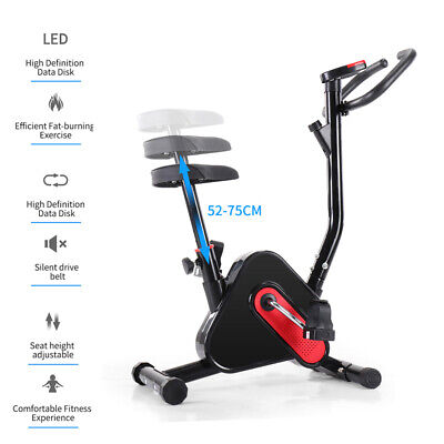 Aerobic Exercise Bike Bicycle Home Fitness Quite Motion Cycling Cardio Trainer • 79£
