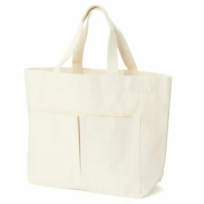 $30.98 • Buy Muji White India My Tote Bag Unbleached Moma Small Pocket Hand Japan FS