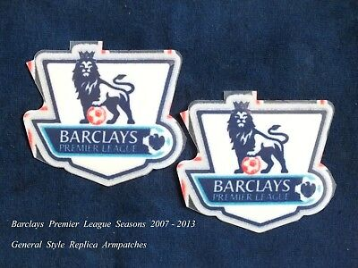 $12.52 • Buy Sporting ID Barclays Premier League 2007-2013 General Style Replica Arm Patches