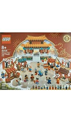 $190 • Buy LEGO Chinese New Year Temple Fair #80105 Limited Edition 1664 Pcs New & Sealed