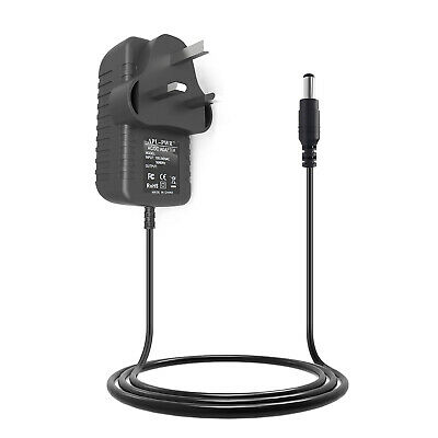 £7.69 • Buy 9v 1.5a 1500mA 5.5mm X 2.5mm Center Positive Uk Mains Power Supply Adaptor Cable