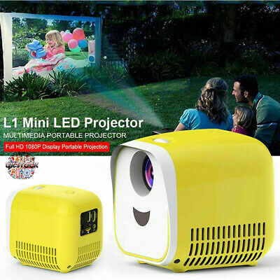 £24.95 • Buy Mini Pocket Projector LED 1080P HD Home Cinema Projector LCD USB 1000LM Theater