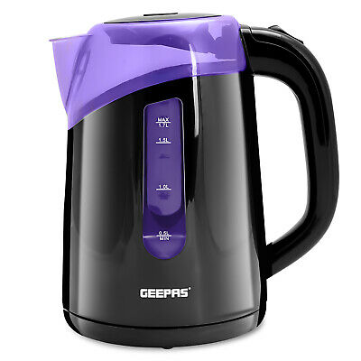 £15.99 • Buy Geepas Electric Kettle Cordless Fast Boil Jug 2200 W 1.7L Boil-Dry Protection