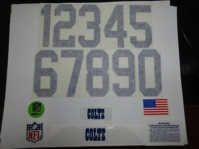 $10 • Buy Indianapolis Colts Football Helmet Decals