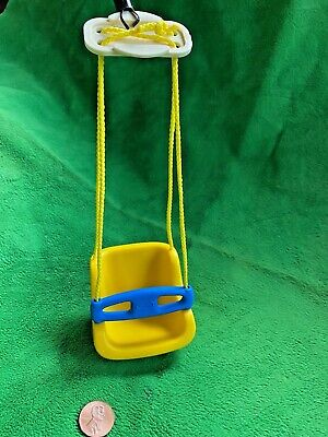 $29.99 • Buy Little Tikes Vintage Dollhouse Family Hanging Baby Yellow Swing Doll Furniture