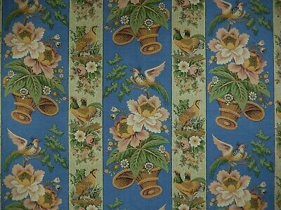 Clarence House  La Basse Cour  Hand Printed Linen Fabric.  Italy.  1 Yd+.  F-172 • 42.88£