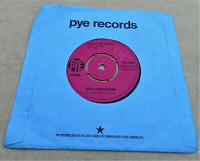 The Honeycombs: Have I The Right? C/w Please Don't Pretend Again Pye 7N 15664 • 2£