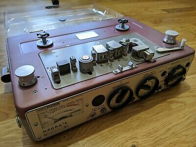 Nagra E Single Speed Full Track Mono Tape Recorder • 405£