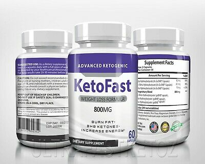 $17.80 • Buy Ketofast Diet Caps Weight Loss Supplement, Advanced Ketogenic