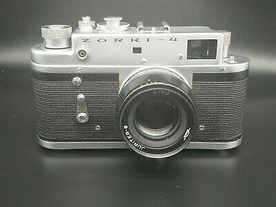 ZORKI 4 Rangefinder Camera + Jupiter 8, SERVICED & FILM TESTED • 65£