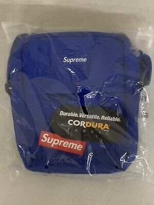 $ CDN207.32 • Buy New SUPREME Shoulder Bag - Royal Blue SS18B10 SS18 W Logo Strap NWT New W Tags