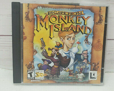£7.08 • Buy Escape From Monkey Island PC Game CD Rom Windows 95