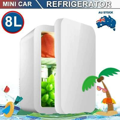 AU64.99 • Buy 8L Mini Portable Bar Freezer Fridge Small Drinks Beer Cooler Warmer Top Home Car