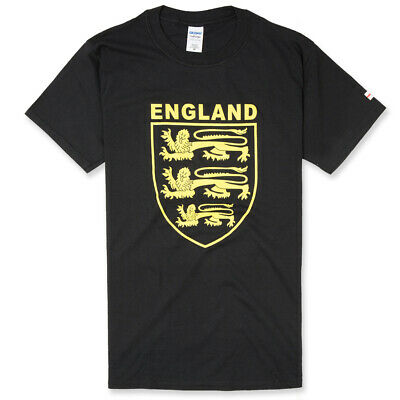 £14 • Buy 3 Lions England T-Shirt With Small Cross Of St George On Sleeve, St George's Day