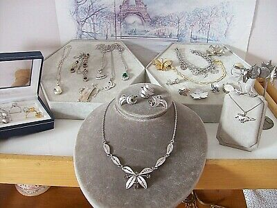 $ CDN225 • Buy Vintage Lot Of Mixed  Sterling-ers,bracelets,pins,pendant Necklaces, Sets