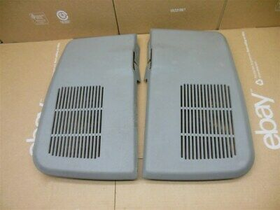 $80 • Buy 94-96 SS Impala 91-96 Chevy Caprice Rear Deck Speaker Grills Grilles Gray