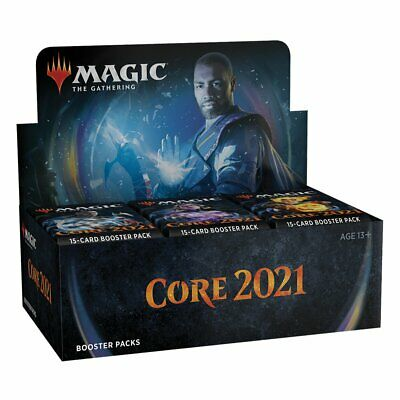 AU165.92 • Buy PREORDER Magic The Gathering MTG Core 2021 Booster Box W/ 36 Packs