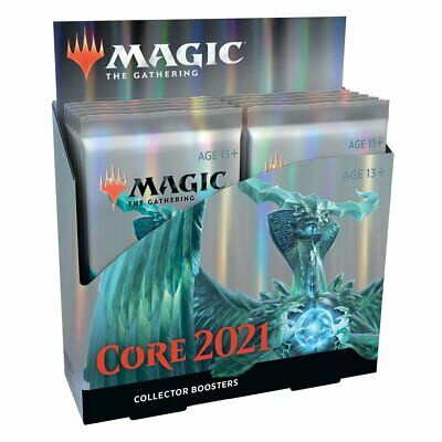 AU355.80 • Buy PREORDER Magic The Gathering MTG Core 2021 Collector Booster Box W/12 Packs