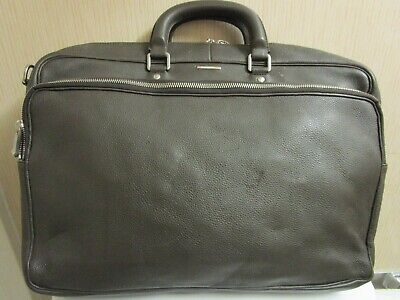 $1099.99 • Buy Zegna Olive Green Leather Briefcase. 17  X 12  X 5 1/2  Retail: 2700