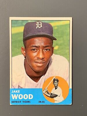 $11.49 • Buy 1963 Topps #453 Jake Wood High Number VGEX-EX Detroit Tigers