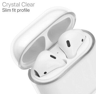AU6.79 • Buy Shockproof For Airpods Airpod Case Cover Clear Transparent Skin PC Holder