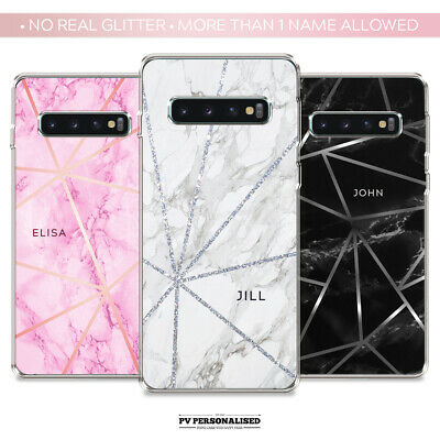 $ CDN10.16 • Buy PERSONALISED PHONE CASE NAME INITIALS SILICONE FOR SAMSUNG GALAXY S8 S9 S10 S10e