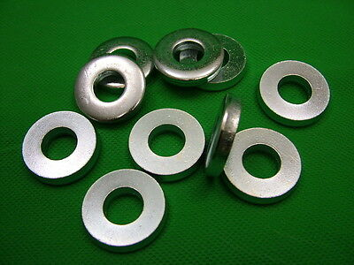 £5.10 • Buy Extra Thick Flat Spacer Washers, Steel, M12, 6mm Thick, Pack Of 10, Zinc Plated