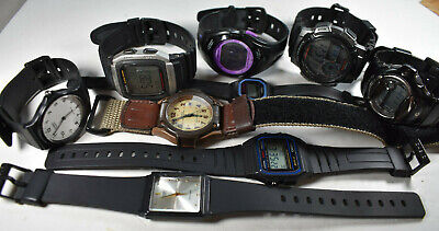 $ CDN85 • Buy Casio Watch Lot! Nine (9) Men's/Women's NEW BATTERIES!