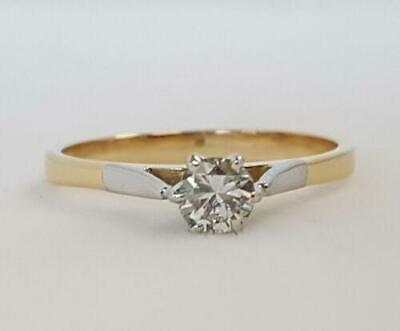 AU369 • Buy 18ct Diamond Solitaire Ring Valued $1646