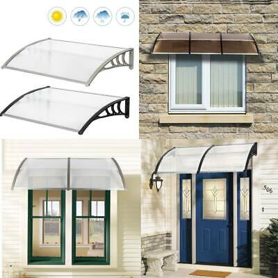 £47.99 • Buy New Door Canopy Awning Rain Shelter Front Back Porch Window Patio Roof UK Stock