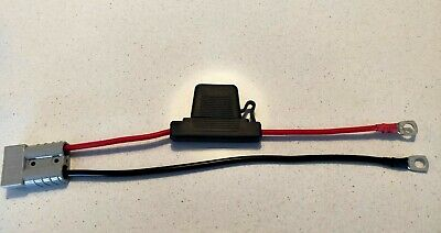 AU17.50 • Buy FUSED Anderson Lead 50amp Plug To 8mm Lugs 6 Mm Cable