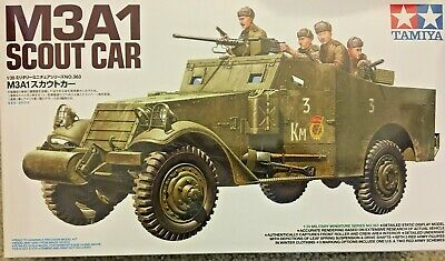 $39.99 • Buy 1/35 Soviet  Red Army  M3A1 Scout Car, American Lend-Lease -- NEW Tamiya 35363