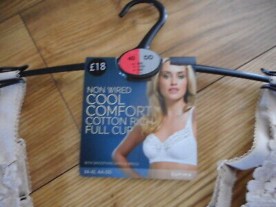 AU14.43 • Buy 40a  Marks & Spencers Cool Comfort Cotton Rich Non Padded  Non Wired Bra  New