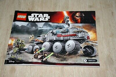 AU99 • Buy STAR WARS Lego:CLONE TURBO TANK 100% Complete But WITHOUT BOX