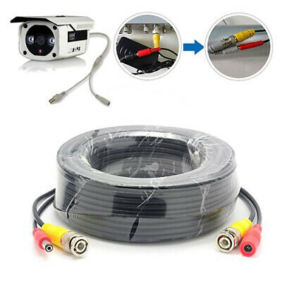 AU13.90 • Buy 15M BNC Video DC Power Supply Extension Cable Lead For CCTV Security Camera DVR