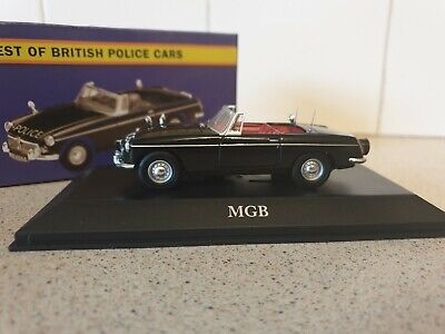 Atlas Editions - Mgb Roadster - Lancashire  - 1/43.scale - Police Collection • 14.99£
