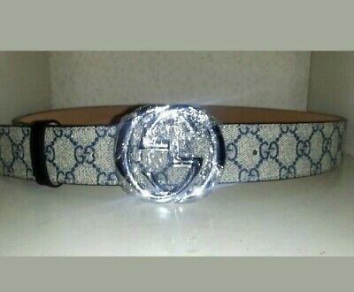 AU150 • Buy Authentic Mens Gucci Belt With GG Buckle