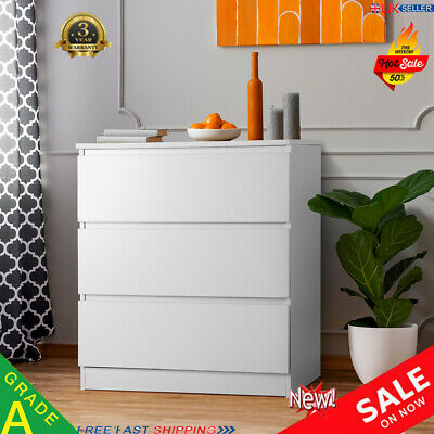 Modern Bedside Table Cabinet Chest Of Drawers Bedroom Nightstand Bedroom Hallway • 46.99£