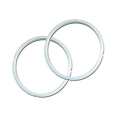 $11.95 • Buy Genuine Instant Pot Sealing Ring 2 Pack Clear � 8 Quart