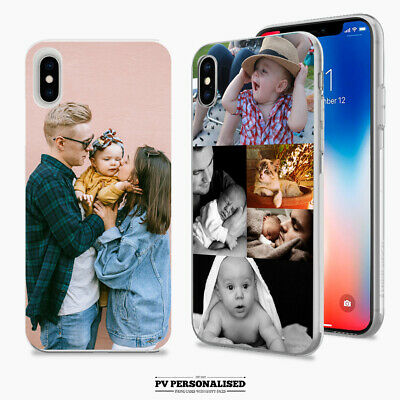 Personalised Phone Case Cover Photo Collage For Apple Iphone 11 7 8 Plus X Se • 5.99£
