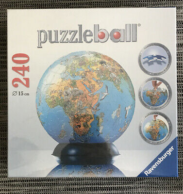 $24.99 • Buy Ravensburger 3-D World Globe Puzzle Ball 240 Pieces Age 10+ ~FACTORY SEALED