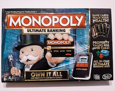 $29.99 • Buy HASBRO MONOPOLY Ultimate Banking Board Game ~ Complete & Tested