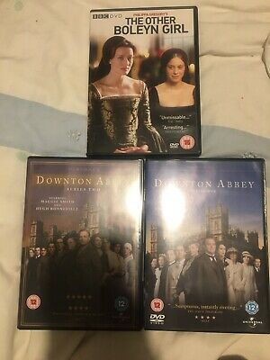 Downtown Abbey Series 1&2 And The Other Boleyn Girl Job Lot DVDs • 5£