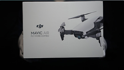 AU1399 • Buy Genuine DJI Mavic Air Fly More Combo Arctic White Boxed - 'The Masked Man'