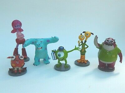 Disney Pixar Monsters Inc Plastic Figures/cake Decorations • 14.87£