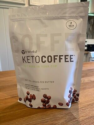 $35.50 • Buy Brand New It Works New And Improved Keto Coffee 15 Packets