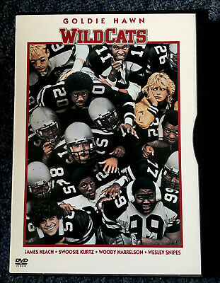 WILDCATS (1986 Goldie Hawn, Wesley Snipes) DVD Region Free 0 Snap Case RARE • 17.95£